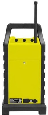 Pyle PWPBT250YL Rugged & Portable Bluetooth Speaker with FM Radio, USB/SD Readers & Built-In Rechargeable Battery (Yellow) FM Radio(Yellow)