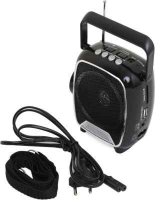 Soroo 1602 Rechargable Multimedia Speaker with USB and Torch - Simply Black FM Radio