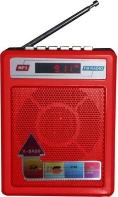 Yuvan SL- 414 Musicmania FM Radio(Red)
