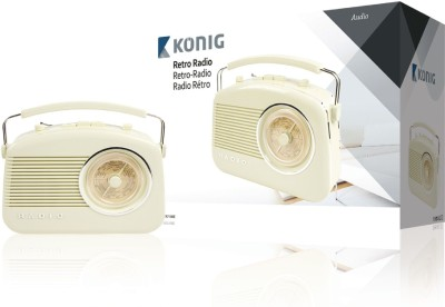 Konig Retro Design FM Radio