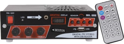 Bexton Wired Speaker with USB 2.0 (Black) FM Radio(Black)