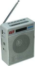 Sonics SL 414 WHITE FM Radio
