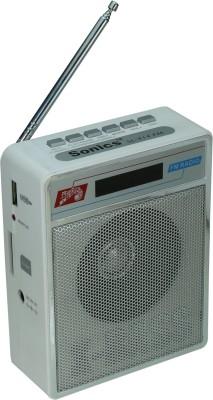 Sonics SL 414 WHITE FM Radio(White)