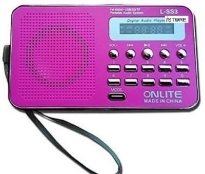 Istore Mini Speaker Portable LED Display L-SS3 FM Radio