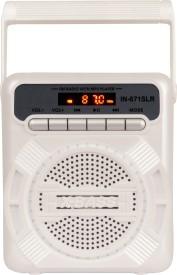 Yuvan IN-671SLR Solar USB/ SD Player With FM Radio(White, Grey)