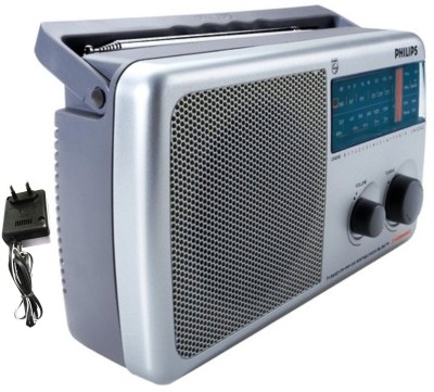 Philips RL384/40 With Inbuilt-Rechargeable Battery and (AC Adapter) FM Radio