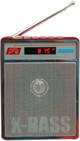 Yuvan SL - 413 USB / SD Player With FM Radio(Red)