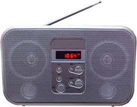 Yuvan SL - 360 USB / SD Player With FM Radio(Silver)