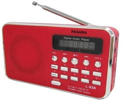 Pagaria L-938 FM Radio(Red)