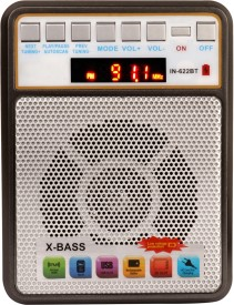 Yuvan IN-622BT Bluetooth USB/ SD Player With FM Radio(Multicolor)