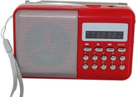 Vmore L -SS6 Mini Speaker Player FM Radio(Multicolor)