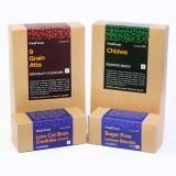Whole Foods 9 Grain Atta, Sugar Free Lem...