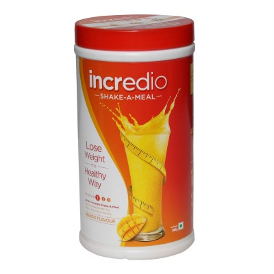 Incredio 1 Meal Replacement Shake Mango, 1 Refresh Tea Honey Lemon Combo