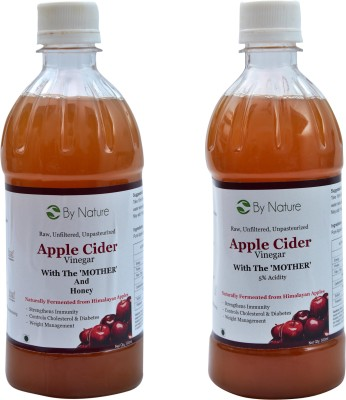 By Nature 1 Apple Cider Vinegar with The Mother and Honey, 1 Apple Cider Vinegar with The Mother Combo