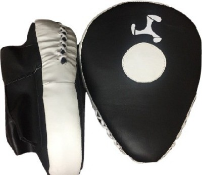 Le Buckle Boxing Hook and Jab Curved Focus Pad(Black, White)