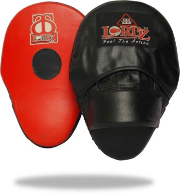 Lordz Curved Leather Punching Focus Pad(Black)