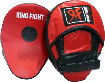 Ring Fight Curved Hook & Jab Curved Focus Pad(Red, Black)
