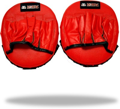 Lordz Leather Small Punching Focus Pad(Red, Black)