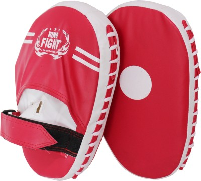 Ring Fight Hook & Jab Focus Pad(Red, White)