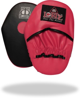Lordz Leather Punching Focus Pad(Red, Blue)
