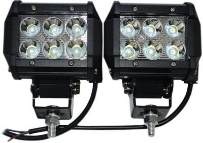 Autosky LED Fog Lamp Unit for Chevrolet, Ford, Hyundai, Mahindra, Nissan Beat, Ecosport, Civic, Verna, Xylo, Micra