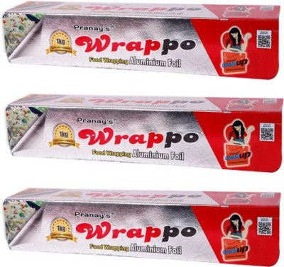 Pranays Wrappo Food Wrap 1Kg. Foil Aluminium Foil