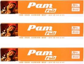 PAM Pack of 3 Aluminium Foil(305 m)