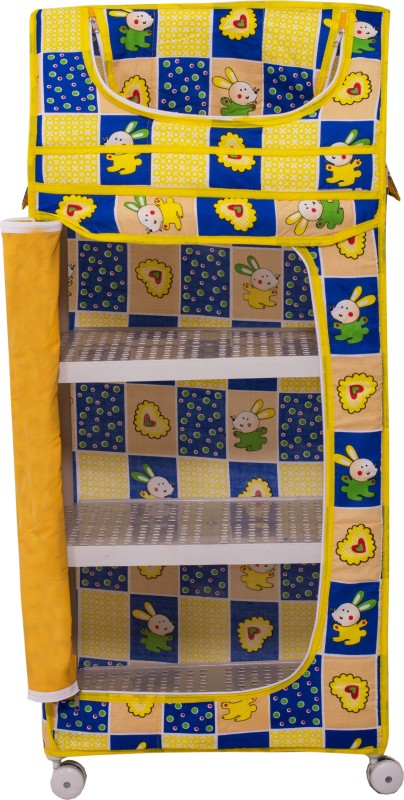 Weplay Kidz Utility Almirah(Yellow)