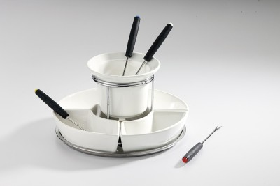 Godskitchen Bone China Fondue Set