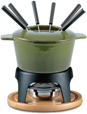 Swissmar Sieera Cast Iron Fondue Set(Green)