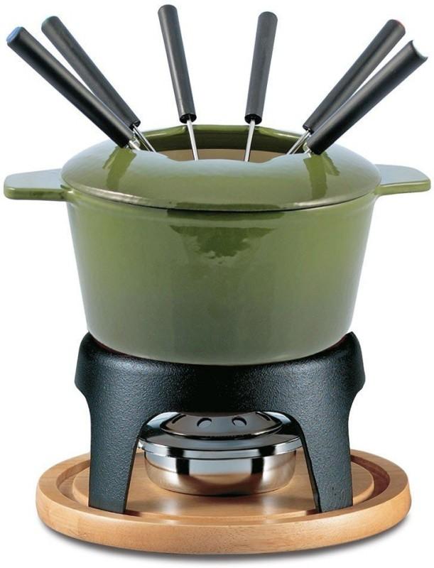 Swissmar Sieera Cast Iron Fondue Set(Green)