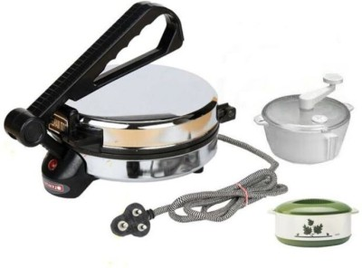 Deemark Dough Maker & Casserole Combo Pack Roti/Khakhra Maker
