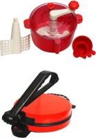 ECO SHOPEE COMBO OF NATIONAL RED Roti- MAKER WITH RED Dough Maker(Red) best price on Flipkart @ Rs. 1760