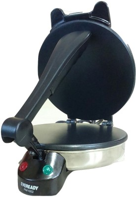 Eveready RM1002 Roti/Khakhra Maker(Black & Silver)