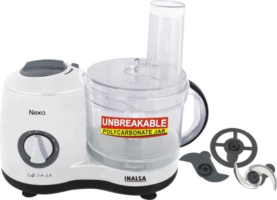 Inalsa Nexa 600W Food Processor