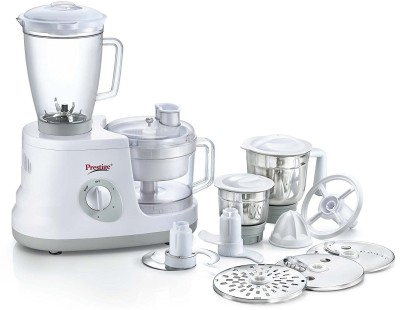 Prestige 41407 All Rounder 600 W Food Processor(White)