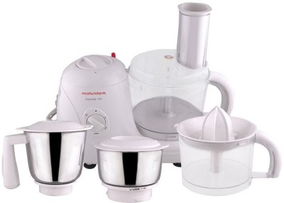 Morphy Richards ESSENTIAL 100FP 600 W Food Processor(White)
