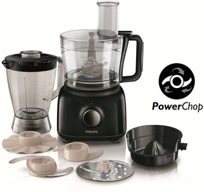 Philips HR7629/90 650 W Food Processor(Black)