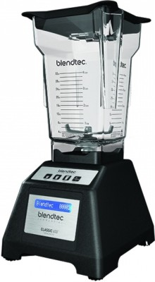 BLENDTEC EZ600 1000 W Food Processor(Black Blue display)