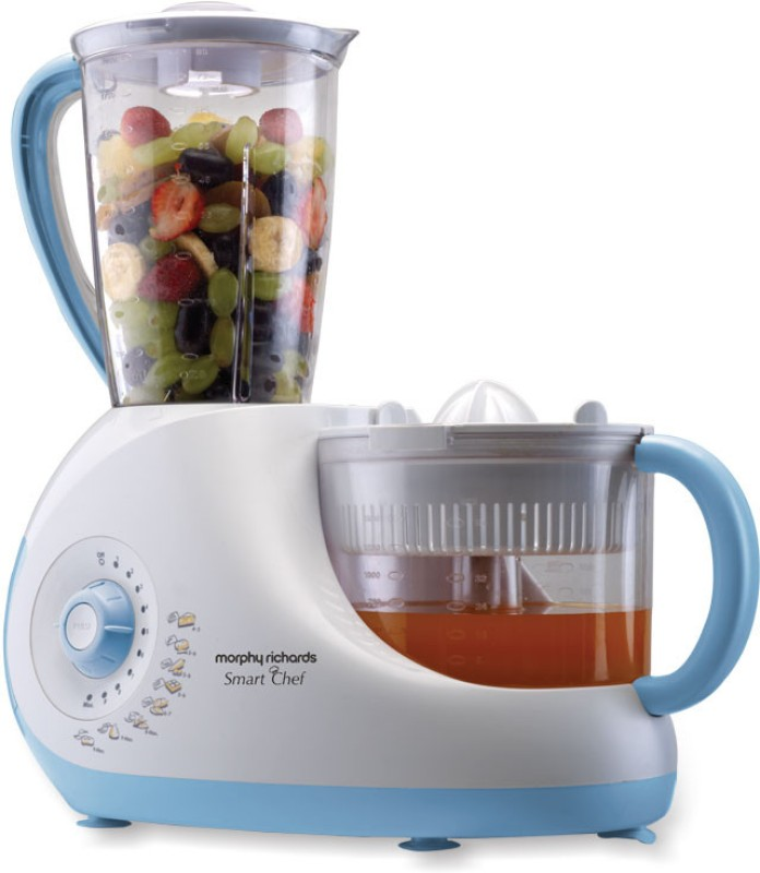 Morphy Richards Smart Chef 1000 W Food Processor