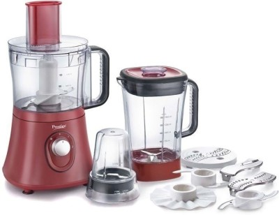 Prestige ACE 600 W Food Processor(Brown)