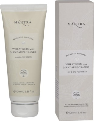 Mantra Wheat Germ & Mandarin Orange Hand & Feet Cream