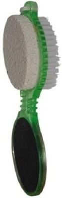 Liqon 4 in 1 Pedicure Brush Set Cleanse Scrub Buff Foot Scrubber Nail Emery File