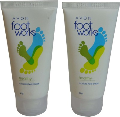 Avon Foot Work Cracked Heel Cream - Set of 2