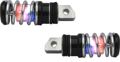 Speedwav LED Spring Bike Foot Pegs-Royal...