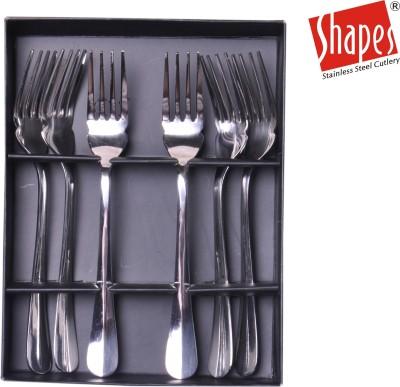Shapes Stainless Steel Fisk Fork Set