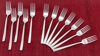 Valerio Stainless Steel Serving Fork Set