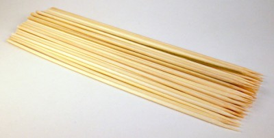 SYGA Disposable Bamboo Roast Fork Set(Pack of 100)