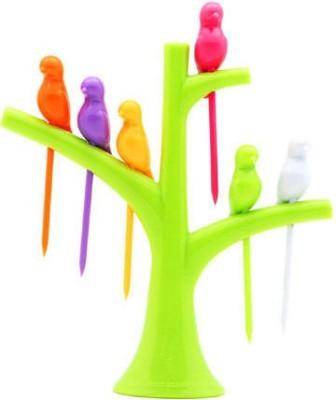 DivineXt Tree Birds Shaped Plastic Fruit...