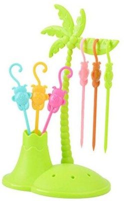 Houzfull Lovely Plastic Fruit Fork